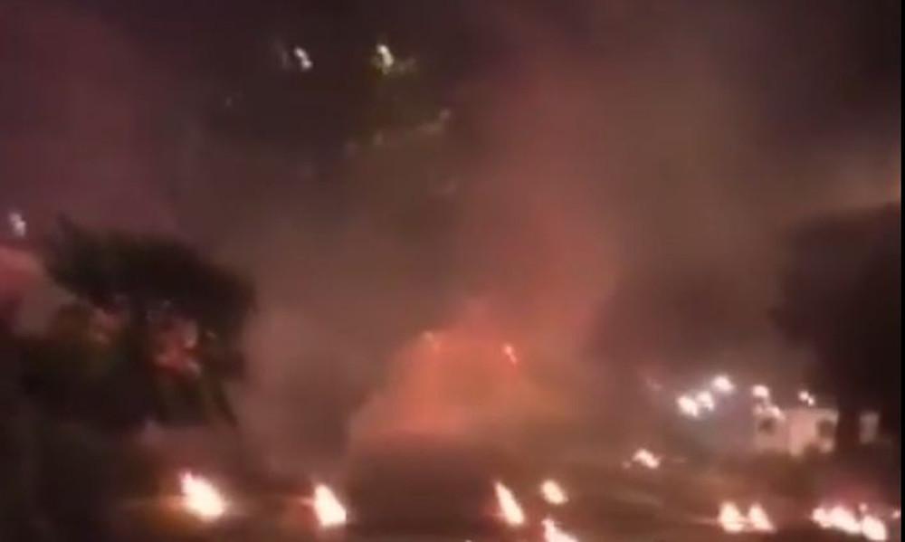 Χάος και σκηνές ωμής βίας στα επεισόδια της Λεωφόρου Αλεξάνδρας (videos)