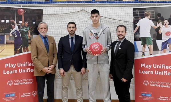 Η ΚΑΕ Παναθηναϊκός ΟΠΑΠ στην Ευρωπαϊκή Εβδομάδα Μπάσκετ Special Olympics (video+photos)