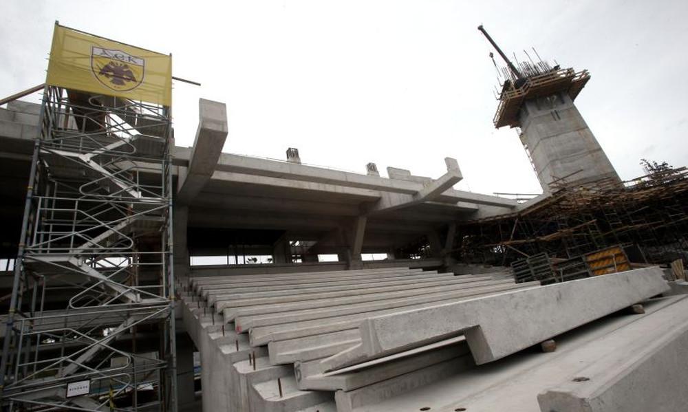 Προχωράει η υπογειοποίηση στο νέο γήπεδο της ΑΕΚ