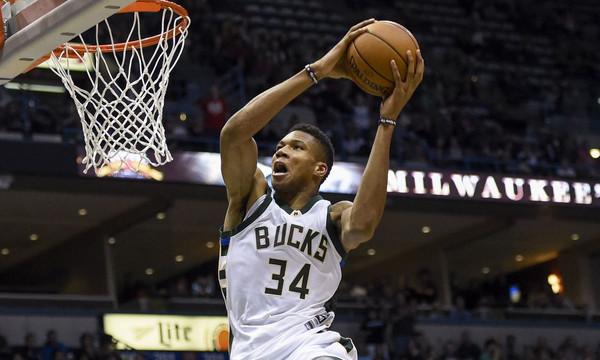 NBA: Ο… τρομακτικός Γιάννης και ο… clutch Τζορτζ στο Top 10 (vid)