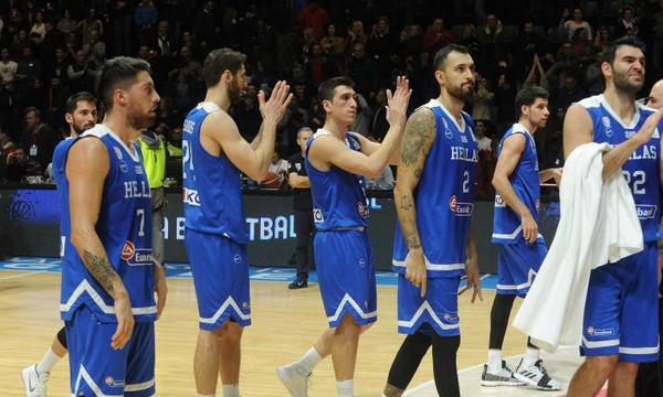 Ανέβηκε στην 8η θέση της κατάταξης της FIBA η Ελλάδα