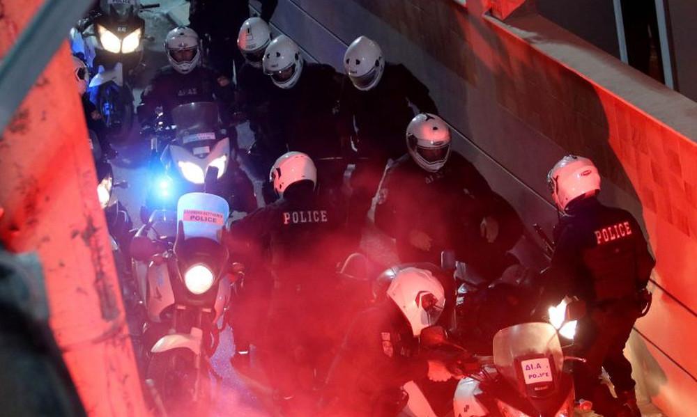 Επίθεση στο σύνδεσμο του Ολυμπιακού στον Ασπρόπυργο