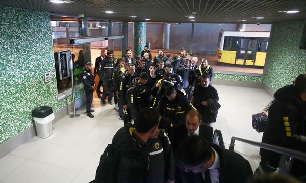 ΑΕΚ: Έφτασε στη Λισαβώνα και ετοιμάζεται για Μπενφίκα (photos)