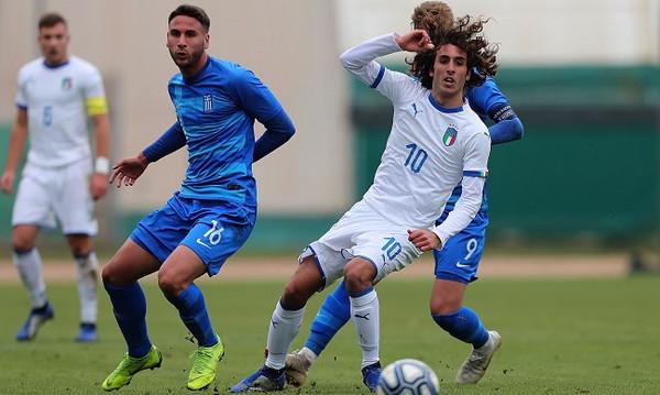 Εθνική Νέων Φιλική ήττα από Ιταλία (photos)