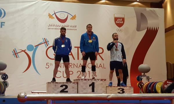 Τρία μετάλλια και δύο Πανελλήνια ρεκόρ στο Παγκόσμιο Κύπελλο Άρσης Βαρών