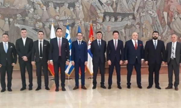 Στο Βελιγράδι ο πρόεδρος της ΕΠΟ
