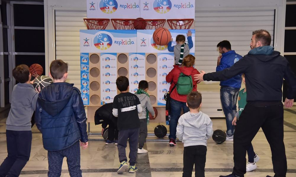 Η «Κερkidα ΟΠΑΠ» μαζί με τον Παναθηναϊκό ΟΠΑΠ στη «Γιορτή του Παιδιού» στο ΟΑΚΑ (photos)