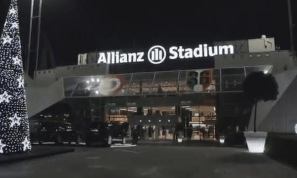 Χριστούγεννα στο γήπεδο της Γιουβέντους (video)