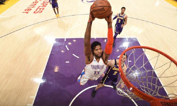 NBA: Πέρασαν από το LA οι Θάντερ (vid)