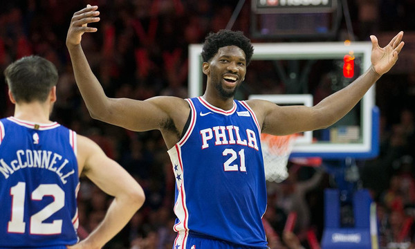NBA: Στην κορυφή του Top-10 ο Εμπίντ (vid)