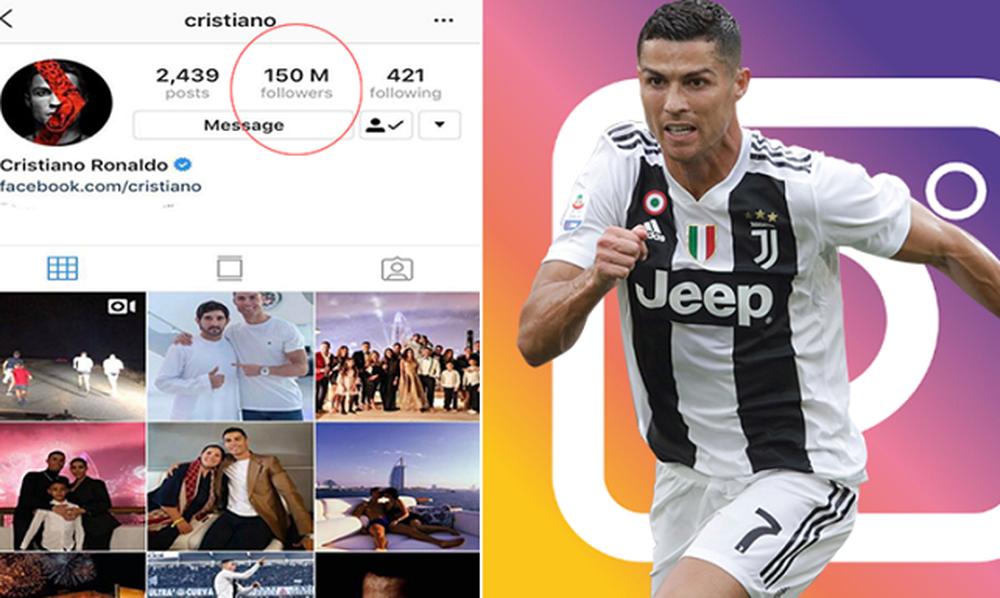 Διέλυσε το Instagram ο Κριστιάνο (photo)
