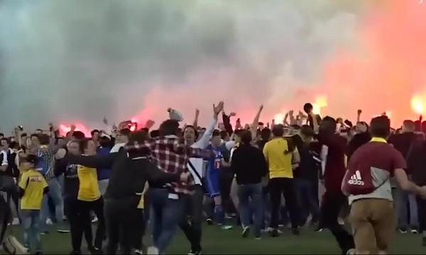 Οι... καλύτερες εισβολές οπαδών στο γήπεδο για το 2018 (video)