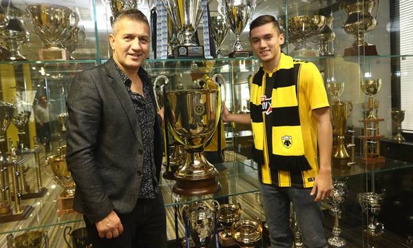 Σαμπανάτζοβιτς: «Να βαδίσω στα βήματα του πατέρα μου» (photos)