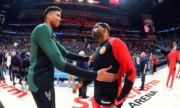 NBA: Αποθέωσε Κάρτερ ο Γιάννης! (photos)