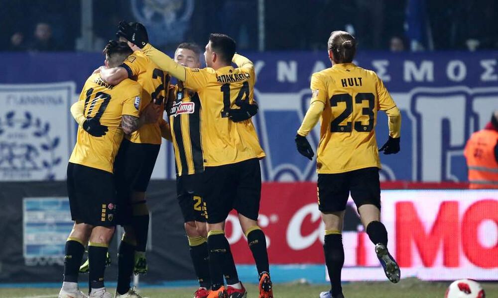 ΠΑΣ Γιάννινα-ΑΕΚ 0-4: Κυριάρχησε και ξέσπασε! (photos)