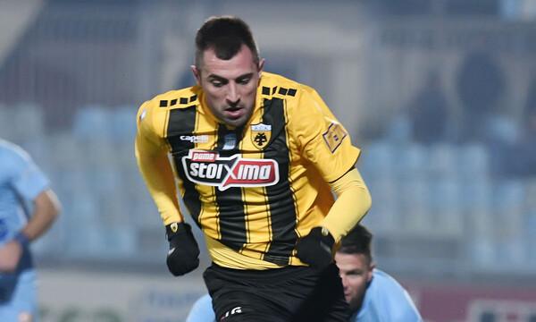 Χαρούμενος για το ντεμπούτο του με την ΑΕΚ ο Κρίστισιτς (photo)
