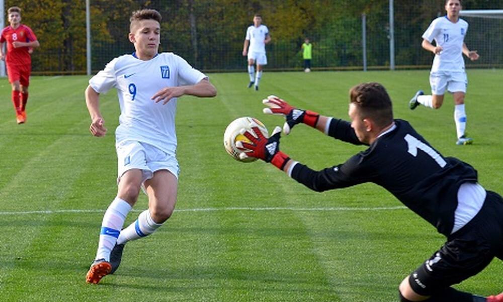 Ήττα στο φιλικό με Δανία για την Εθνική Παίδων