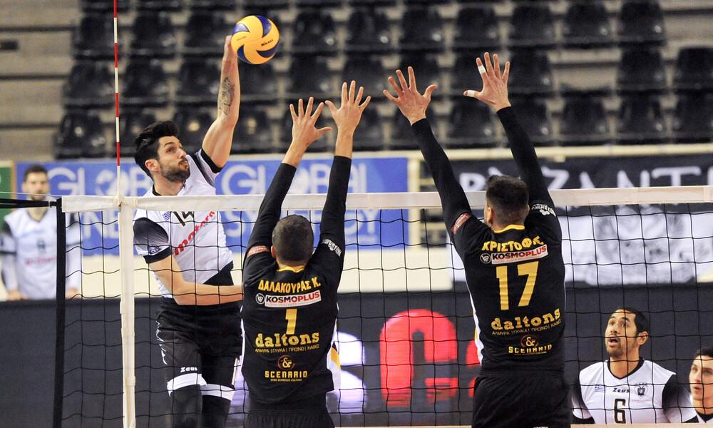 Volley League: Νίκες για ΠΑΟΚ, Κηφισιά