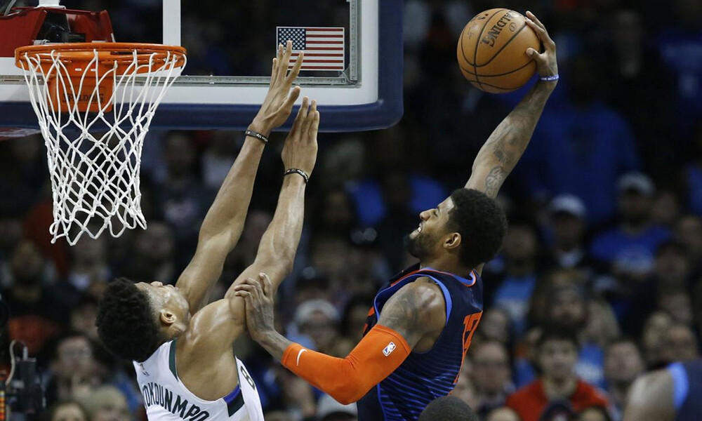 NBA: Μέγας Πολ Τζορτζ στο Top-10 (video)