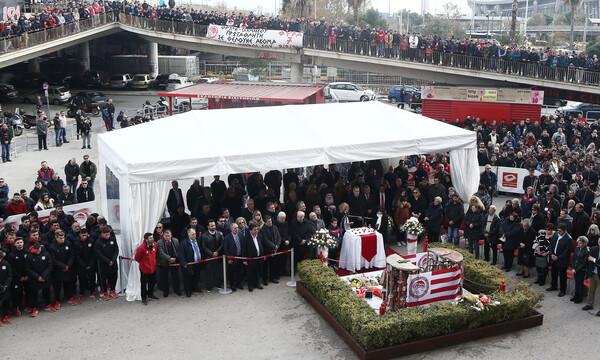 Ολυμπιακός: Το επόμενο Σάββατο το μνημόσυνο για τα θύματα της Θύρας 7 (photos)