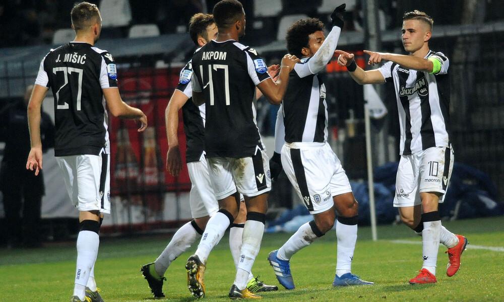 Super League: Δεύτερη ομάδα αήττητη στον πρώτο γύρο ο ΠΑΟΚ
