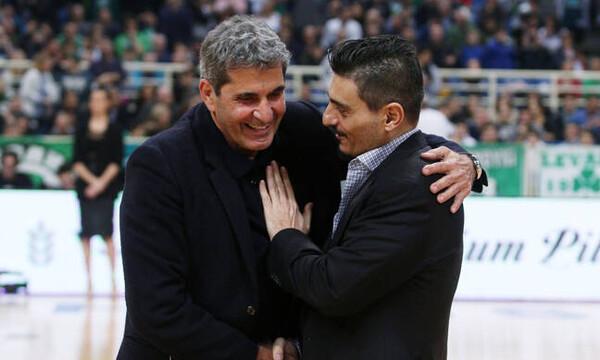 Γιαννακόπουλος: «Βράβευσα τον παιδικό μου ήρωα»