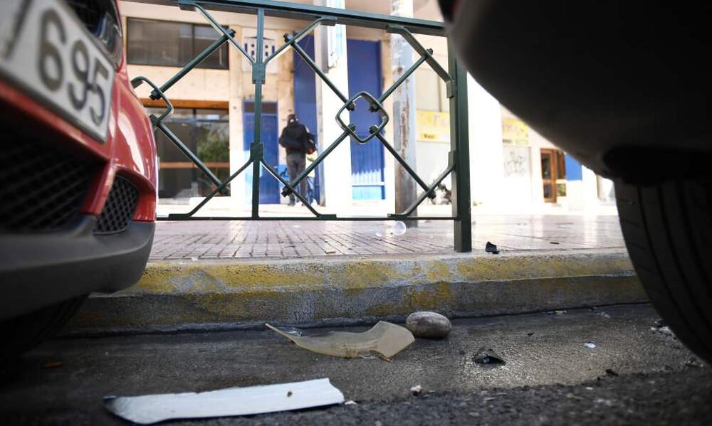 Καρέ - καρέ η επίθεση με μαχαίρια στο σύνδεσμο του Εθνικού (photos)
