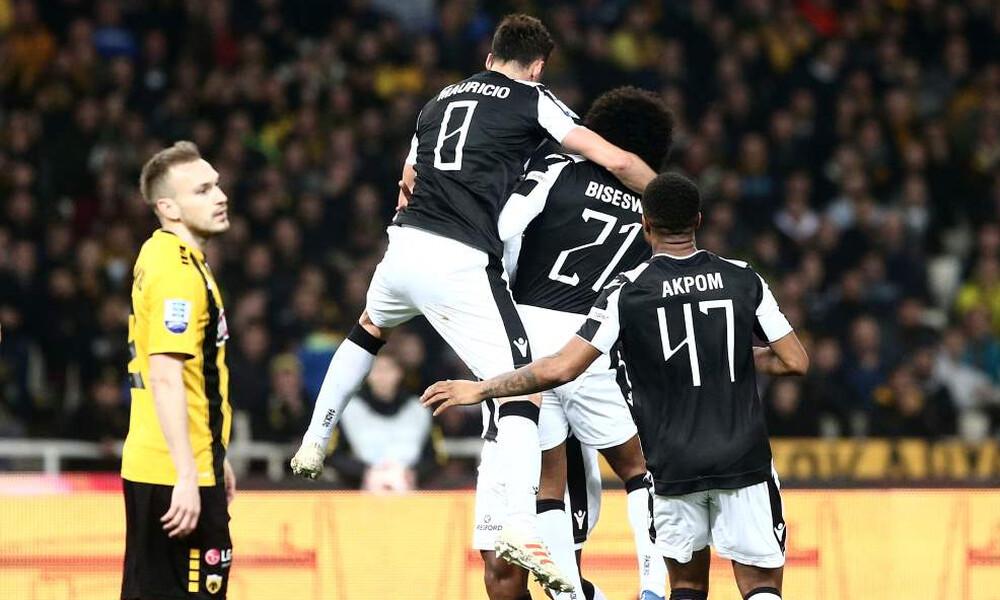ΑΕΚ-ΠΑΟΚ: Το 0-1 με τον Μαουρίτσιο και το ξέσπασμα των «ασπρόμαυρων»! (photos)