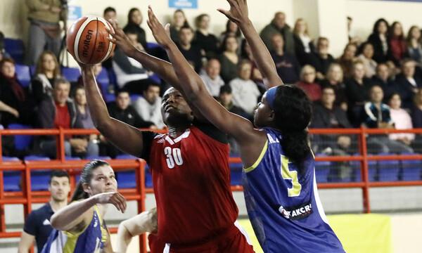 Μπάσκετ γυναικών: Πέρασε από τα Καλύβια ο Ολυμπιακός