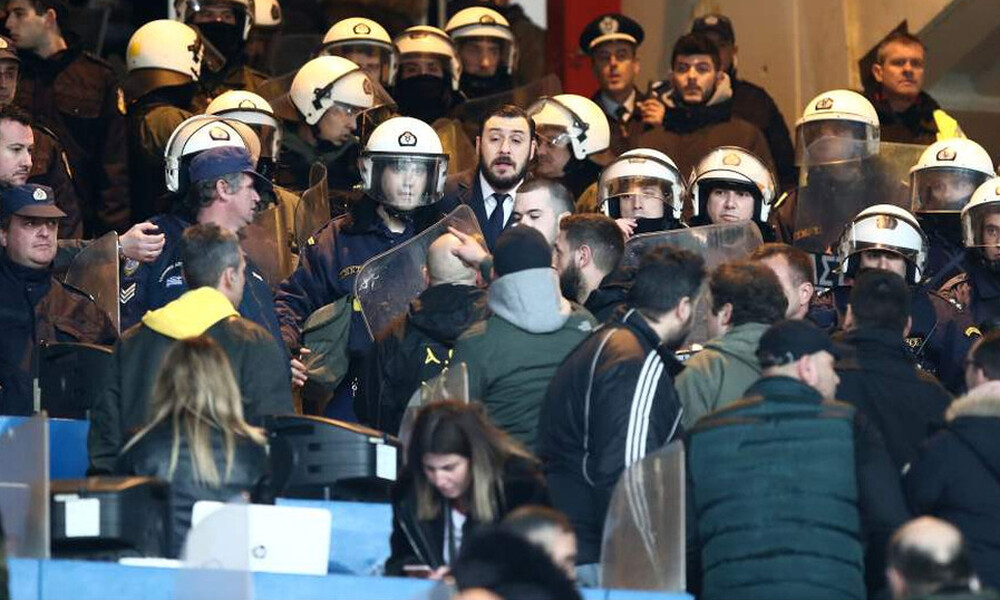 ΑΕΚ: Η έκθεση της Αστυνομίας και με ποιες ποινές κινδυνεύει για τα επεισόδια (photos)