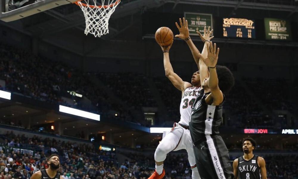 NBA: Δεν πιάνεται ο Αντετοκούνμπο! (video)