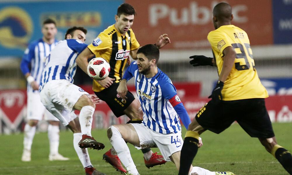 Ατρόμητος-ΑΕΚ 0-1: Προβάδισμα πρόκρισης με πέναλτι εκτός περιοχής! (photos)