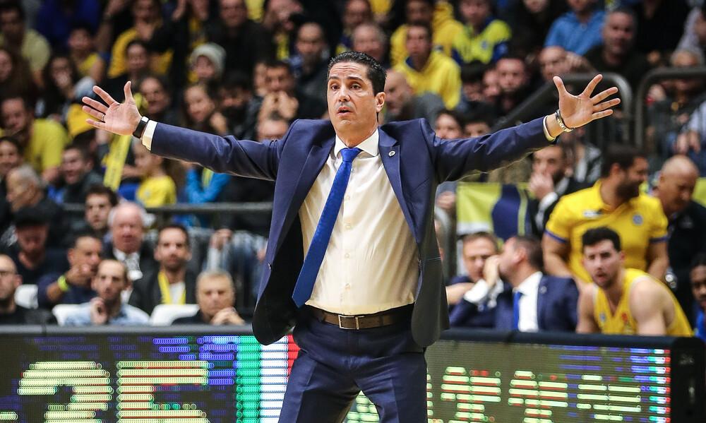 Σφαιρόπουλος: «Χαρούμενος στη Μακάμπι. Ο στόχος δεν έχει επιτευχθεί ακόμα»