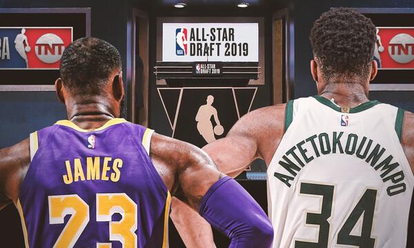 Οι επιλογές των Γιάννη Αντετοκούνμπο και ΛεΜπρον Τζέιμς για το All Star Game (photos)