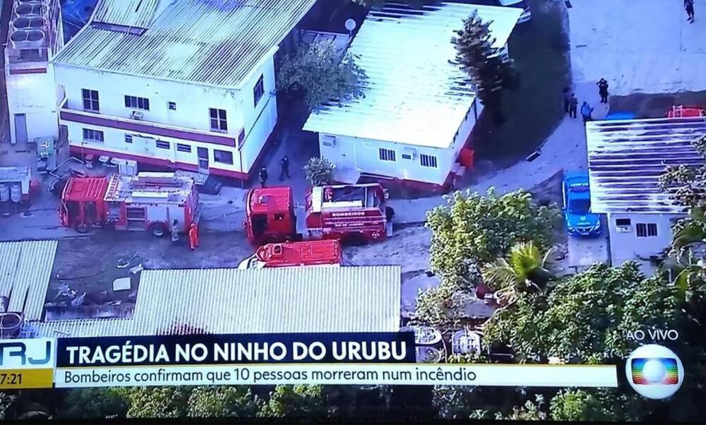 Τραγωδία: Τουλάχιστον 10 νεκροί στο προπονητικό κέντρο της Φλαμένγκο!