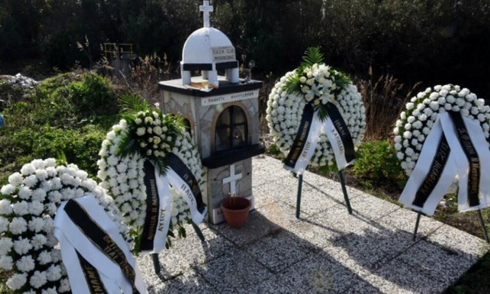ΠΑΟΚ: Τίμησε τη μνήμη του Κατσούρη (photos)