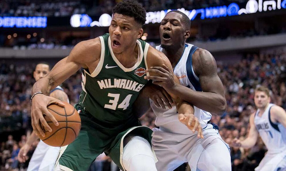 NBA: Σαρωτικοί οι Μπακς και ο Αντετοκούνμπο, νίκησαν και τον Ντόντσιτς (video)