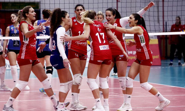 Volleyleague γυναικών: Άνετη νίκη για τον Ολυμπιακό (photos)