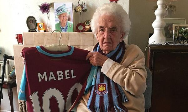 Απεβίωσε σε ηλικία 102 ετών η γηραιότερη φίλαθλος της Γουέστ Χαμ