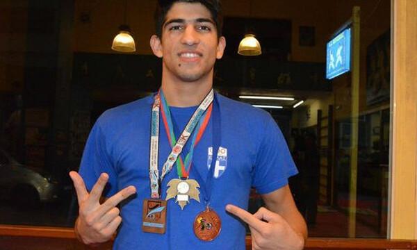 Πρωταθλητής Ευρώπης στο Καράτε ο Χρήστος Στέφανος Ξένος