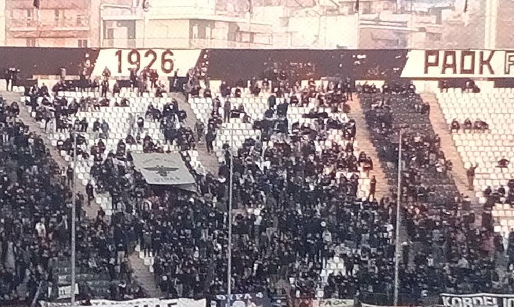 ΠΑΟΚ-Ολυμπιακός: Tα πανό που βάζουν «φωτιά» στην Τούμπα! (photos)