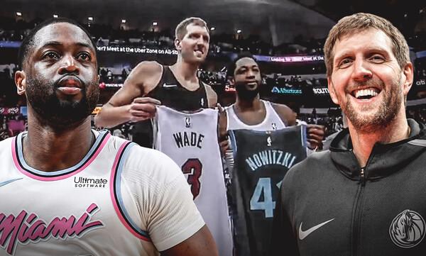 NBA: Η τελευταία παράσταση των Νοβίτσκι-Γουέιντ! (video+photos)