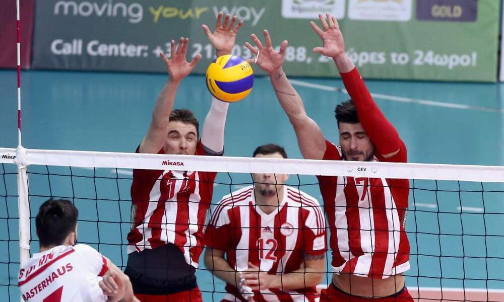 Ολυμπιακός: Με ανατροπή στους «4» του CEV Cup (photos)
