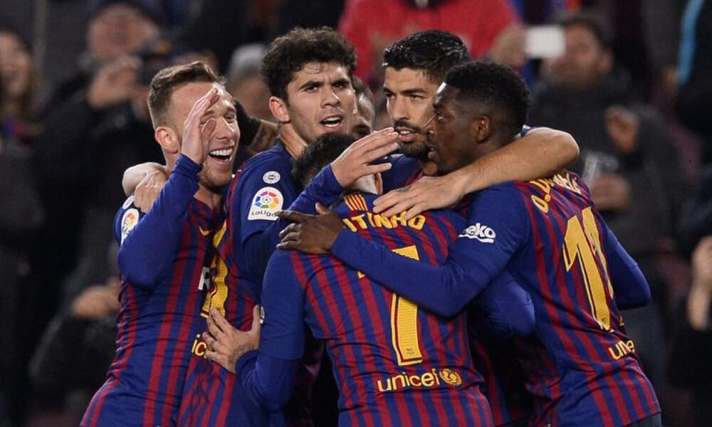 Πολλά γκολ στη Βαρκελώνη