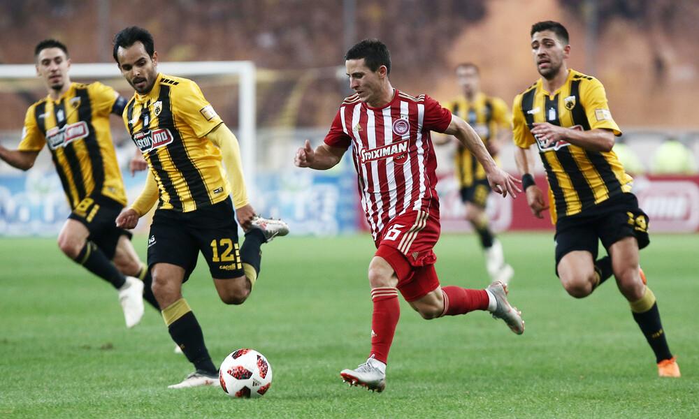 Super League: Ολυμπιακός-ΑΕΚ με φόντο τη δεύτερη θέση