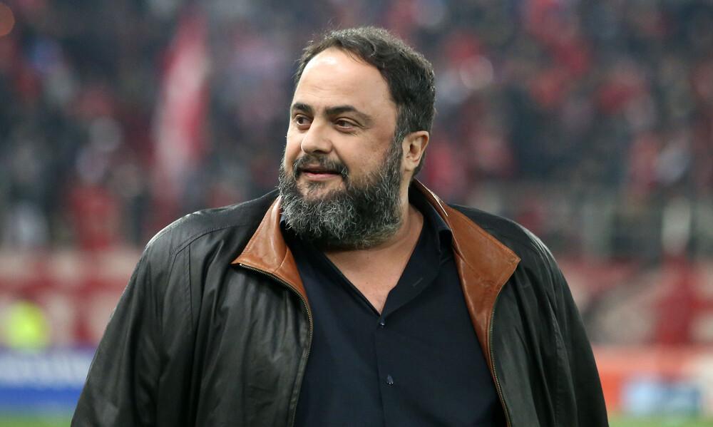 Ολυμπιακός-ΑΕΚ: Στα αποδυτήρια μετά την «τεσσάρα» ο Μαρινάκης