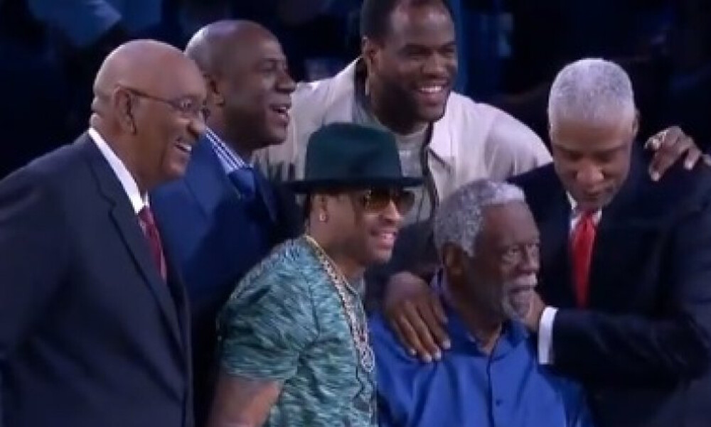 NBA: Χωράνε έξι θρύλοι του μπάσκετ σε μια φωτογραφία; Κι όμως! (photo+video)