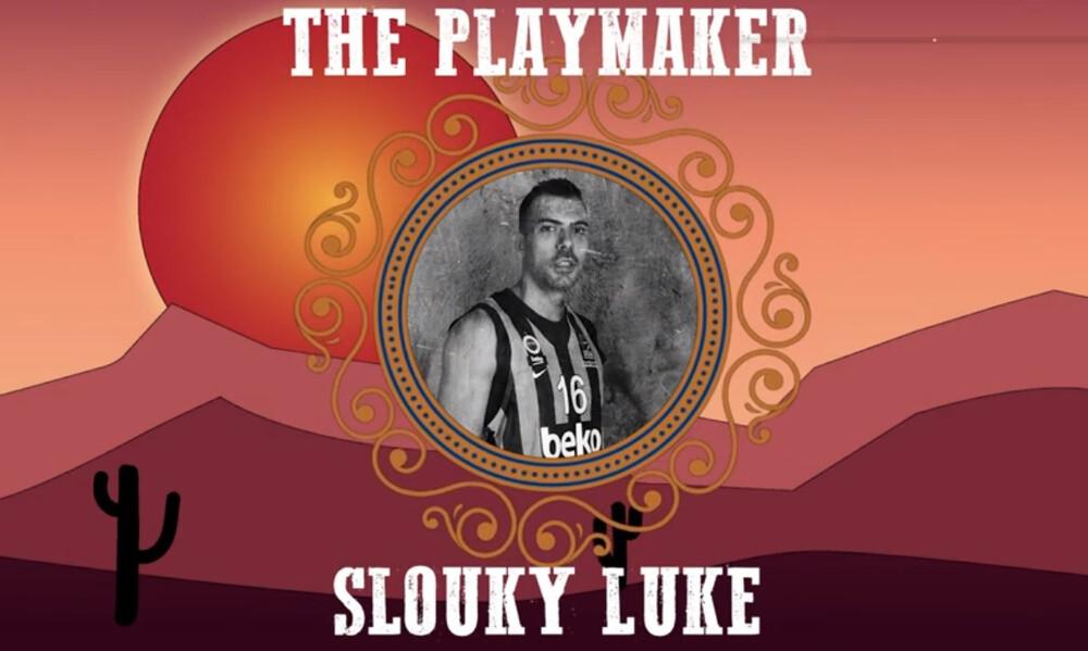 Ο Κώστας Σλούκας είναι ο… Slouky Luke της Euroleague (video)