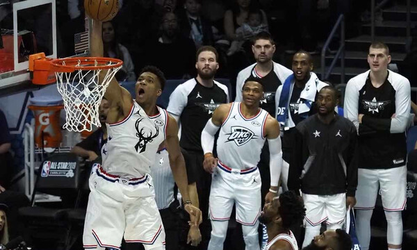 All Star Game 2019:  Κι όμως η τρομερή συνεργασία Αντετοκούνμπο – Κάρι ΔΕΝ είναι στo No1 (video)