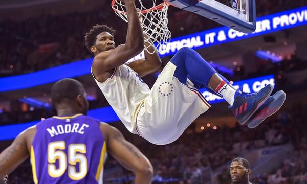 NBA: Ξεσάλωσε ο Εμπίντ! (video+photos)